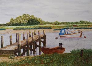 Thumbnail photo of Boating Quay, Alresford Creek